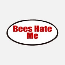 Bees Hate Me Patches