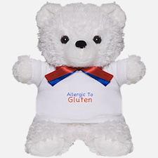 Allergic To Gluten Teddy Bear