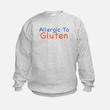 Allergic To Gluten Sweatshirt