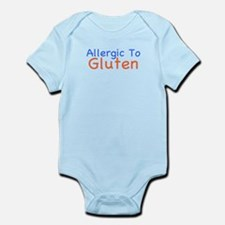 Allergic To Gluten Infant Bodysuit