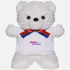 Cutie With Allergies Teddy Bear