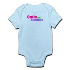 Cutie With Allergies Infant Bodysuit