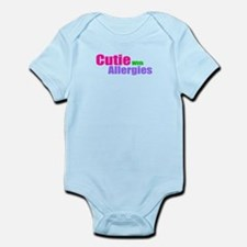 Cutie With Allergies Infant Bodysuit