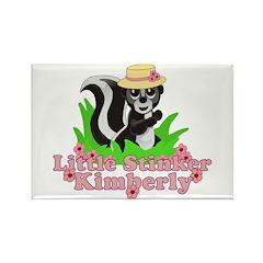 Little Stinker Kimberly Rectangle Magnet (100 pack