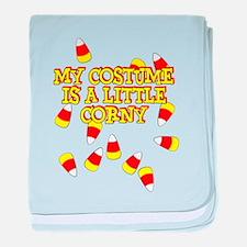 Corny Costume baby blanket