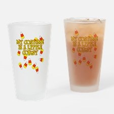 Corny Costume Drinking Glass