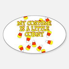 Corny Costume Decal