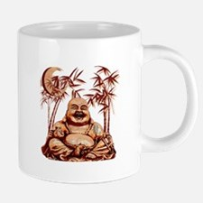 Riyah-Li Designs Happy Budd 20 oz Ceramic Mega Mug