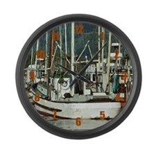 Safe Harbor Large Wall Clock