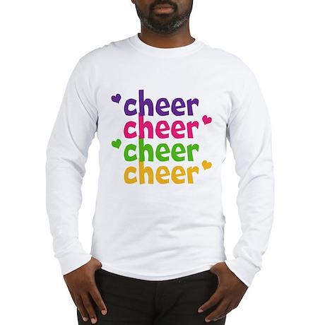 Cheer Hearts Adult Long Sleeve T-Shirt