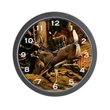 White-tail Wall Clock