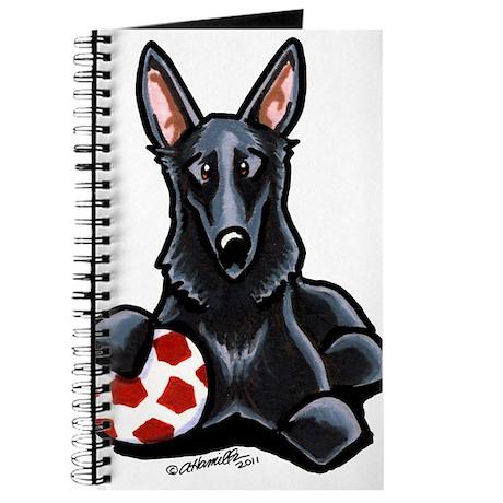 Black GSD Soccer Pro Journal