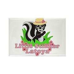 Little Stinker Latoya Rectangle Magnet