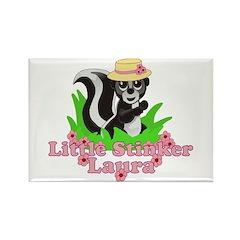 Little Stinker Laura Rectangle Magnet (10 pack)