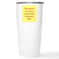 Wisdom of Plato Travel Mug