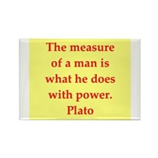 Wisdom of Plato Rectangle Magnet