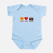 Peace Love Crunk Infant Bodysuit