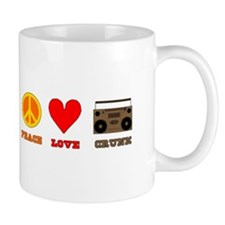 Peace Love Crunk Mug