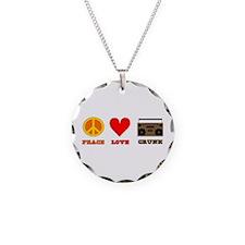 Peace Love Crunk Necklace