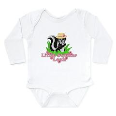 Little Stinker Leah Long Sleeve Infant Bodysuit