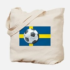 Swedish Soccer Tote Bag