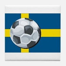 Swedish Soccer Tile Coaster