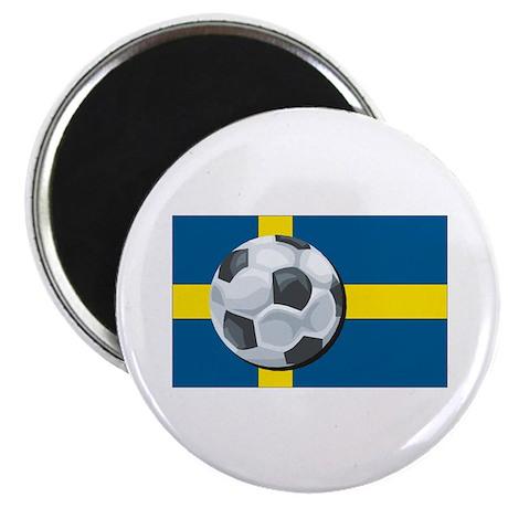 Swedish Soccer Magnet