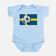 Swedish Soccer Infant Creeper