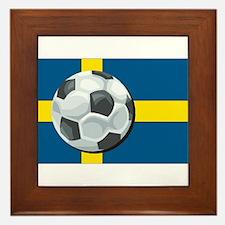Swedish Soccer Framed Tile