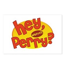 Where's Perry? Postcards (Package of 8)