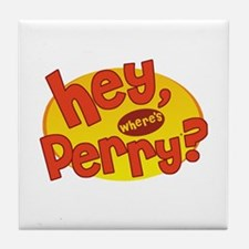 Where's Perry? Tile Coaster