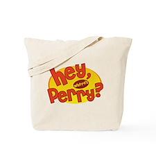 Where's Perry? Tote Bag