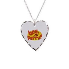 Where's Perry? Necklace Heart Charm