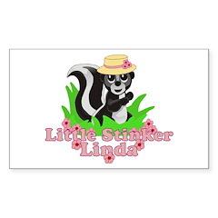 Little Stinker Linda Decal