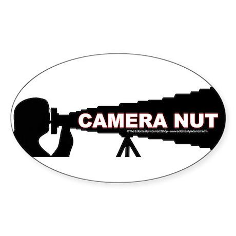 Million dollar lens Sticker (Oval)