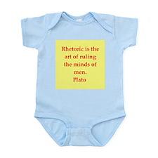 Wisdom of Plato Infant Bodysuit