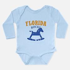 Florida Rocks Long Sleeve Infant Bodysuit
