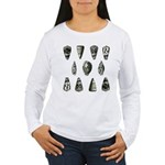 Seashells Women's Long Sleeve T-Shirt