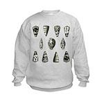 Seashells Kids Sweatshirt