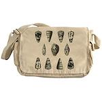 Seashells Messenger Bag