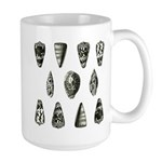 Seashells Large Mug