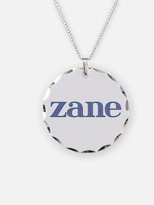 Zane Blue Glass Necklace