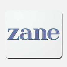 Zane Blue Glass Mousepad