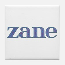 Zane Blue Glass Tile Coaster