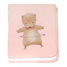 Hoola hamster - baby blanket