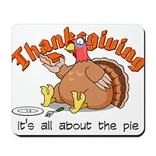 Thanksgiving Pie Mousepad