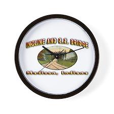 Incline and R R Bridge Wall Clock