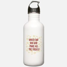Which Day Did God Make Fossils? Water Bottle