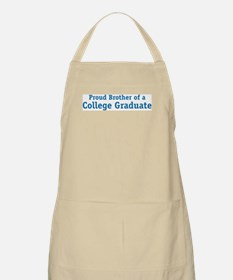 Proud College Brother BBQ Apron