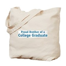 Proud College Brother Tote Bag